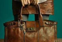 leather bags / leren tassen