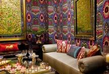 IKAT & SUZANI / Handmade silk and silkvelvet Ikat- & Suzani  / by Eva Kent