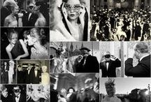party inspiration / how's your hostess style?  these collages have served as inspiration for past and present fetes I have designed; hopefully they will inspire you too!