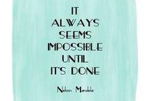 Motiváció / Motiváló dolgok, amikor padlón vagyok, vagy csak kell egy kis fenékbe billentés, hogy ne adjam fel.