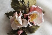 Цветы из кожи* (LEATHER FLOWERS)