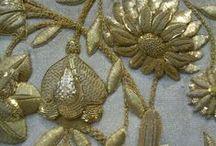 Золотое шитье*  (GOLDWORK EMBROIDERY)