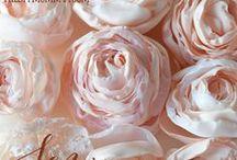Цветы из ткани* (FABRIC FLOWERS)