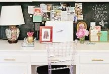 Boss Lady Workspaces / Inspiring Office Style and Work space Decor