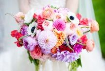 BRIDAL BOUQUETS / Beautiful bridal bouquets in different styles and florals