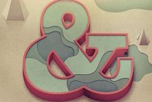 Ampersand addiction / Ampersand typography