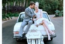 Wedding Cars / It's a very special honor for a brand to be part of a couple's most precious day. To say thank you, we collect the most beautiful Mercedes-Benz wedding car impressions across Pinterest on this board! / by Mercedes-Benz – The best or nothing