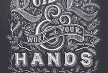 Typography / by Susan Olsen Johnson