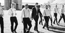 Groomsmen - Knoxville Wedding Photographer / Wedding photos of groomsmen by Knoxville wedding photographer JoPhoto and other wedding photographers. Grooms wedding pictures and fun on the wedding day.