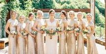 Bridesmaids - Knoxville Wedding Photographer / Bridesmaid pictures by Knoxville wedding photographers JoPhoto and other wedding photographers. Pictures of bridesmaids and brides at weddings.
