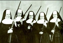 Occupation: Nun / Nuns can do pretty much all the same activities that girls in tampon ads can do. #feminism