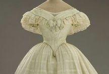 Vintage clothing 1830-1870