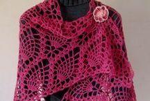 Crochet - Cowls & Shawls