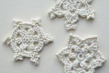Crochet - Snowflakes and Stars