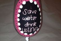 Wine Glass Quotes / by Beth Scholtes