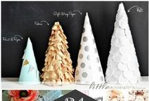 Holiday crafts / Ideas for holiday crafting party / by Beth Gentry