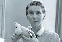 Scandinavian Writers / Portraits of Scandinavian and Nordic authors.