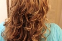straight haired girls all want curls / by Gretchen Louise