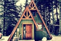 """Cabinessence / Like the Beach Boys sang, """"Light the lamp and fire mellow.""""  Just good, rustic cabin vibes here."""