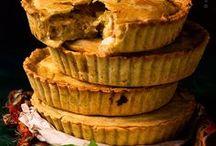 Foodie - Pies | Savoury Tarts / Pies, pasties, empanadas, quiches, savoury flans and tarts @lindyasimus