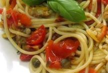 Foodie - Pastas / Assorted pasta recipes - not from Italian sources. See also Foodie - Italia board for authentic Italian recipes  Follow me on Twitter @lindyasimus