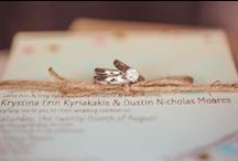 invites, escort cards, favours, guest book & the like / by Tina Kyriakakis