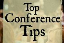 Top Conference Tips for Authors & Bloggers / find my favorite conference tips at http://gretchenlouise.com/conference-tips/ / by Gretchen Louise