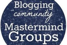 Mastermind Group Tips & Resources / top tips and resources for starting and maintaining a blogging mastermind group (visit gretchenlouise.com/mastermind-groups/ for more)