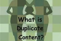 SEO and Duplicate Content Tips / a mommy blogger's favorite tips on search engine optimization / by Gretchen Louise