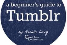 How to Use Tumblr Well / Pinning Tumblr tips as I tumble through Tumblr...