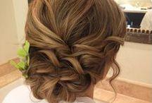 Blushing Bride / Bridal Up-Styles