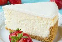 Foodie - Cheesecakes / Cheesecakes, cheesecakes, cheesecakes! See also Foodie - Cakes & Cookie board  @lindyasimus