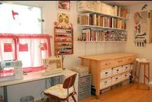 Dream Craft / Sewing Rooms / by Patricia Pennington-Perez