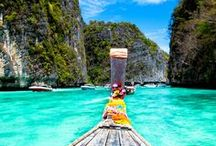 traveling se asia / 2015: November's explorations to Thailand and Cambodia Let's shop in bangkok. kick box and cook in chiang mai. explore angkor wat in siem reap, cambodia. go rock climbing in Railay. and get day drunk in krabi.