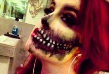 make up hallowen