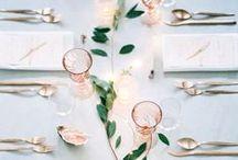 table arrangements/ decor / i got if off pinterest