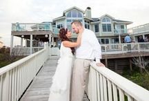 Wedding Homes in Corolla, North Carolina / The most beautiful vacation rentals on the Outer Banks of North Carolina - www.corollaclassicvacations.com or browse our wedding and event homes if you're planning a special day: http://www.corollaclassicvacations.com/weddings-event-homes.