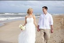 Beach Weddings on the Outer Banks / This board is for beach wedding ideas, destination wedding tips, and trendy decor for your celebration!