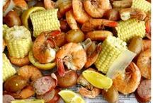 What's for Dinner? / Menu assistance whether you're feeding 4 or 24! Many recipes are southern-inspired, seafood, and grilling-friendly!