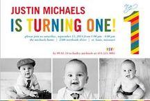 Children: Boy 1st Birthday / 1st birthday party ideas for a boy / by Sarah Elizabeth