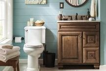 Guest Bathroom Remodel / let's do this! / by Rachel Luxemburg