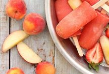 Summer Eats - Sweet / In-season produce includes zucchini, peaches, tomatoes, corn, eggplant, blueberries, cherries, cucumbers, beets, peppers, raspberries, watermelon, figs, plums, apricots, blackberries, nectarines, melon, tomatillos, and shell beans. (source: marthastewart.com) / by Megan Croft