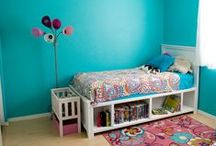 Kids Rooms / by Gina LadyGoats