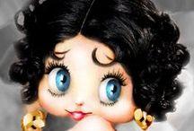 Betty Boop & Old Betty Boop Cartoons / www. youtube.com/bettyb88ga............more boop / by Betty B