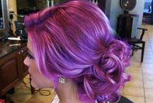 Awsome Red / Violet Hair