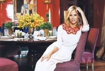 DESIGNERS | tory burch at home / by Joanne D'Amico