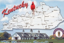 My Old Kentucky Home / My home state, birthplace, and place I call home. / by Kathy Dunn