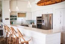 Beach Cottage Renovation / In the midst of renovating our Hawaiian beach home that was originally built in the 1990's.