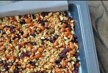 """""""Healthy"""" Sweets: Granola Bars, Fruit Dishes, etc.  / by Chelsea Gibson"""