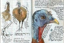 Altered journals / Mixed media / by The Shabby Chic Shoppe Sheila Hart
